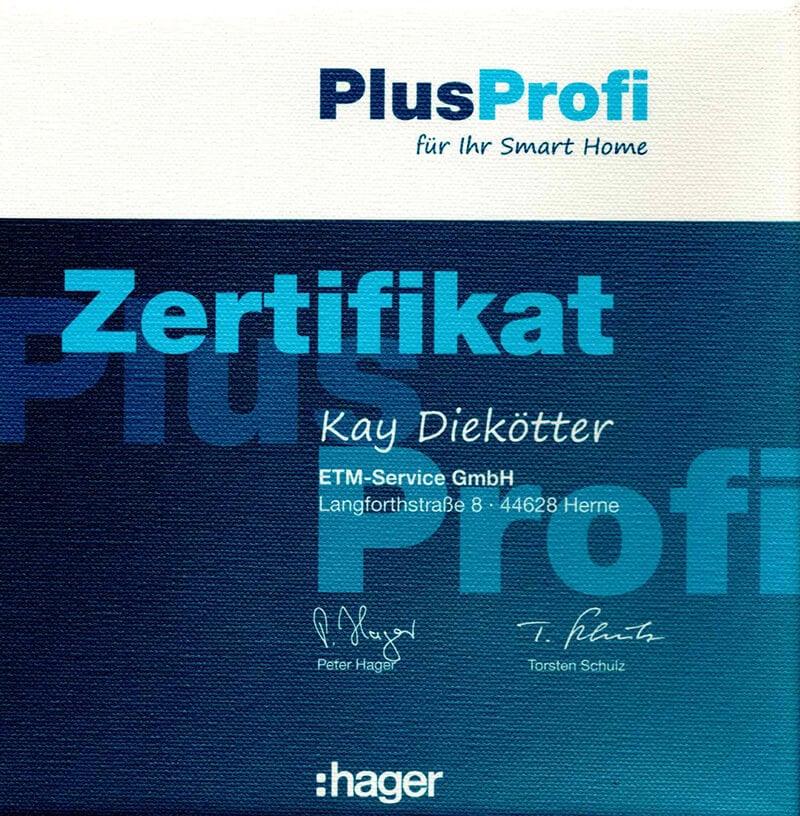 KayHagerPlusProfi zertifikat